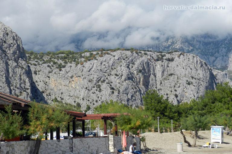 горы, Динарские, Хорватия, Омиш