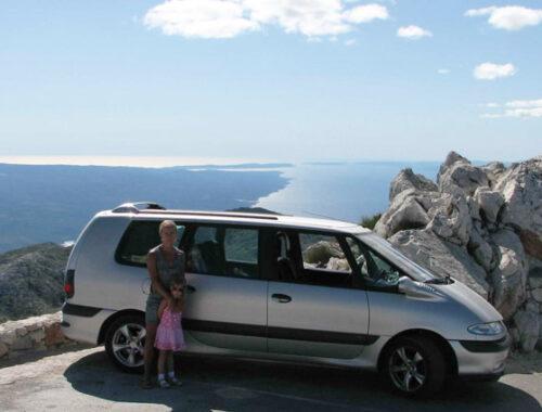 Биоково, на машине, Хорватия