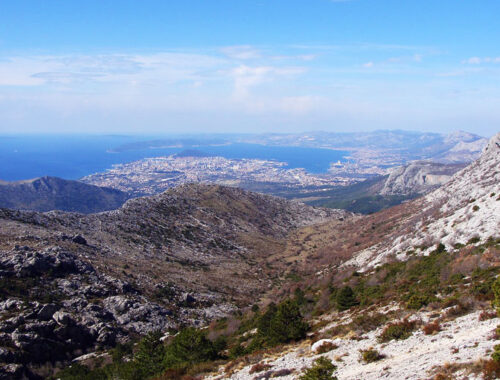 Панорама, Хорватия, вид, горы