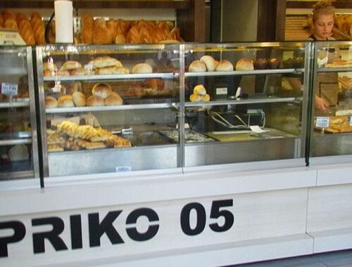 пекарня, Омиш, Хорватия, хлеб