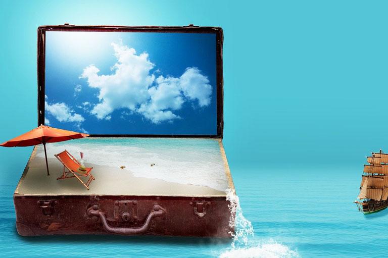 фэнтази,чемодан, турчемодан