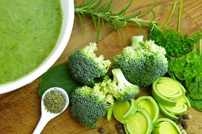 супы, с брокколи, овощные блюда, еда