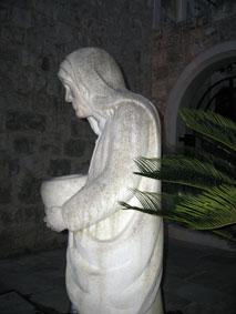 Мать Тереза, скульптура, Супетар, Брач