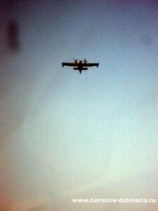 пожарный самолет, Хорватия