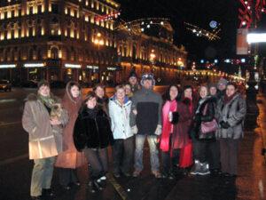новый год, невский проспект, компания, Славен