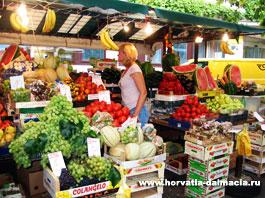 базар, рынок, Хорватия