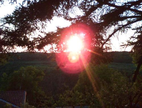 восход, солнце