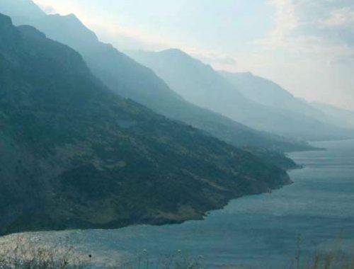 Вруля, Хорватия, горы, Адриатика, море
