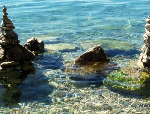 Море, Адриатика, Адриатическое, чистое, красивое, самое, прозрачное, без медуз, в Хорватии