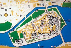 карта, Трогир, центр, старый город, скачать, бесплатно