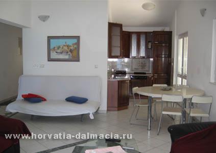 Отдых в апартаментах в Хорватии, Далмации