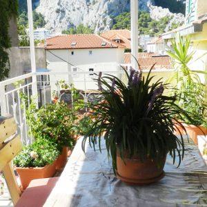 апартаменты, Хорватия, Омиш, красивый вид, старый город