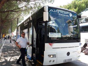аэропорт, автобус из, Сплит, Хорватия, Split