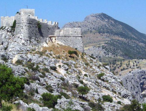 Омиш, фортица, крепость, стари град, прогулки, по горам