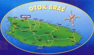 Остров, Брач, Хорватия, отдых, на море