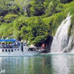Roski slap, водопады, в Хорватии, парк КРКа, что посмотреть, маршруты