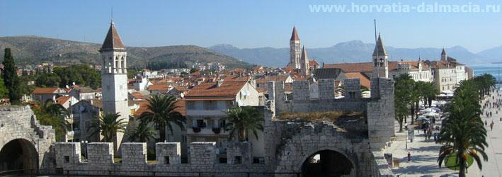 Трогир, Хорватия, город, старинный, древний,