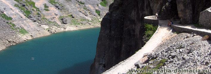 Голубое озеро, Хорватия, Имотски, красивые места