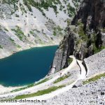 Голубое озеро, Имотски, Хорватия
