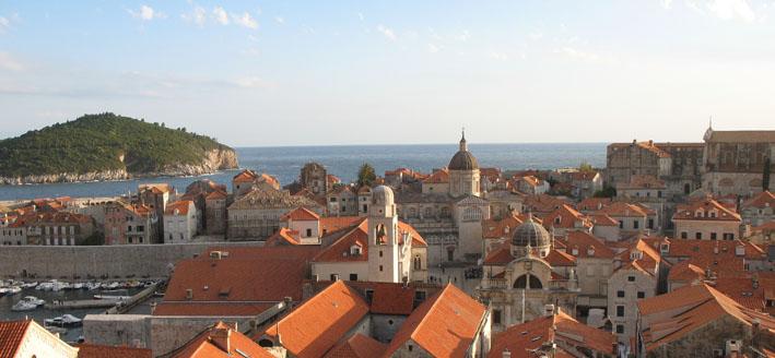 Дубровник, Хорватия, старинный, город, Игра престолов
