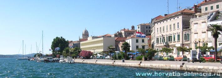 Шибеник, Хорватия, города, старинные, древние, что посмотреть