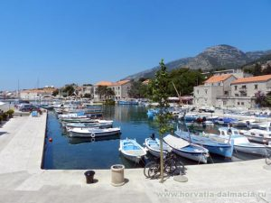 Бол, на острове, Брач, Хорватия, курорты, Хорватии, золотой мыс, галечный пляж