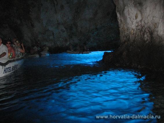 голубая пещера, остров, Бишево, Вис, Хорватия