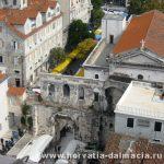 Сплит, Дворец ДиоелктианаSplit, древние, города, Хорватии