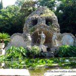 Трстено, Хорватия, ботанический сад
