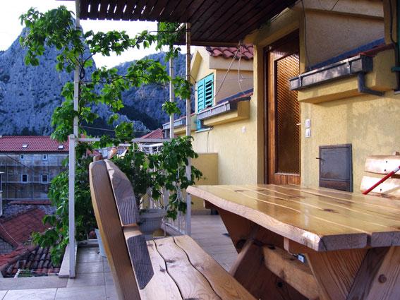 Апартаменты, Хорватия, Омиш, недорого, с хорошим видом, с красивым видом, на 4 человека