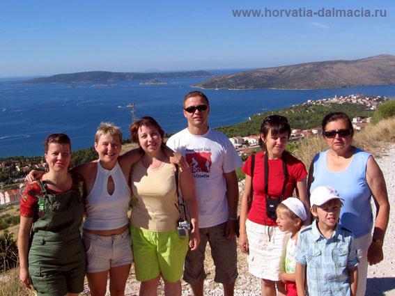 наши гости, 2008, Омиш, Хорватия
