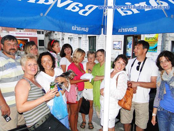 наши гости, 2011, Хорватия, Омиш