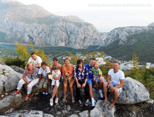 гости 2013, каньон Цетины