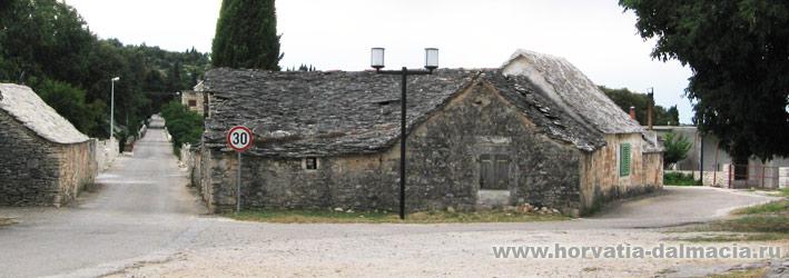 Шкрип, село, остров Брач, Хорватия, достопримечательности, что посмотреть, на острове, интересные, места