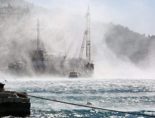 Бура, ветер, погода, Хорватия