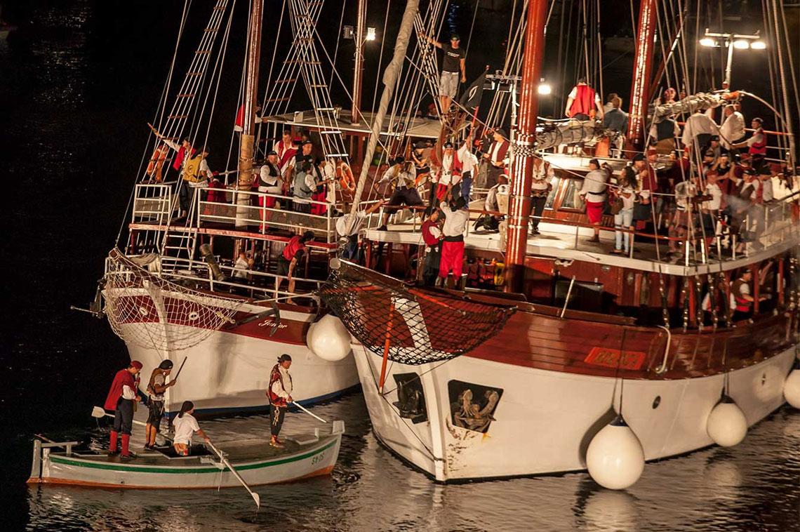 gusarska bitka, пиратский праздник, пиратская битва, Омиш, Хорватия