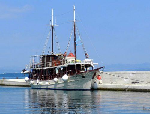 Круиз, на море, Адриатика, Мила Майка, корабль
