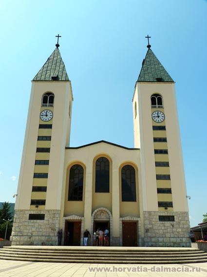 Меджугорье, Босния, паломнический центр