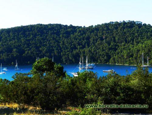 Млет, остров, Хорватия