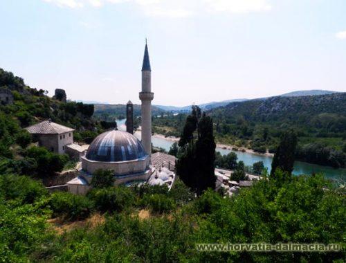 Почитель, Босния, крепость
