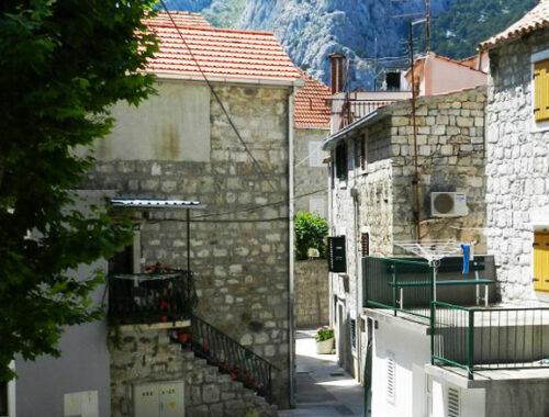 Апартаменты, старый город, Омиш, Хорватия