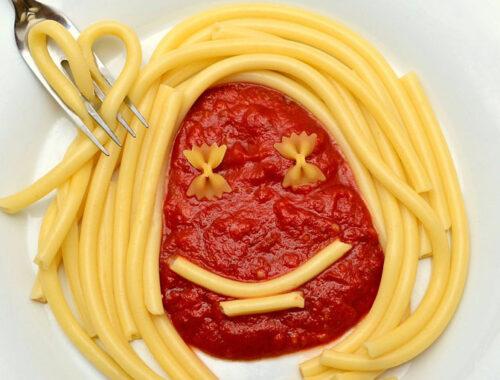 айвар, макароны, соус, еда
