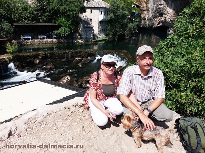 Экскурсия в Благай, Босния и Герцеговина.