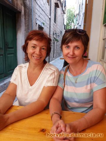 Знакомство началось в Хорватии много лет назад и продолжается до сих пор.
