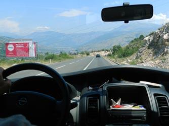 дорога, Босния
