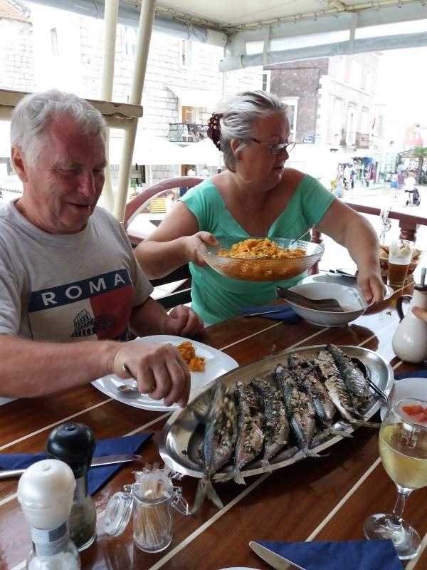 еда, на корабле, Мила Майка, 2018, рыба жареная