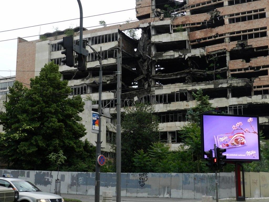 Белград, Сербия, следы войны