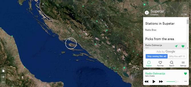радио, радиостанции, далмация, хорватия